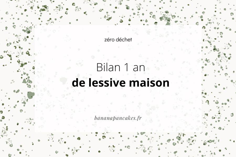 bilan lessive