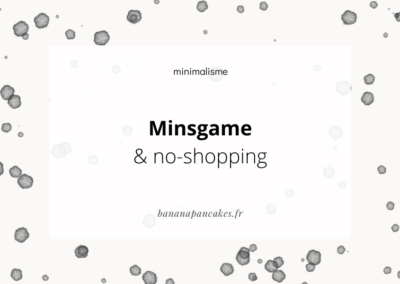 Minsgame & no shopping