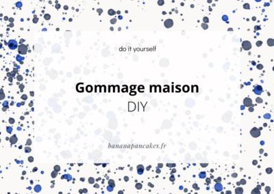 DIY : Gommage maison