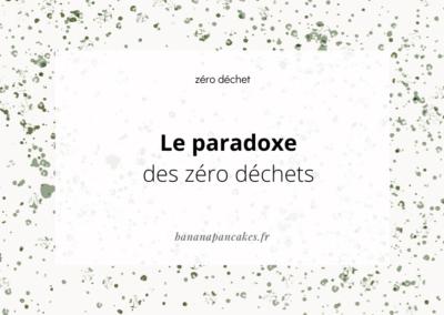 Le paradoxe des zéro déchet…
