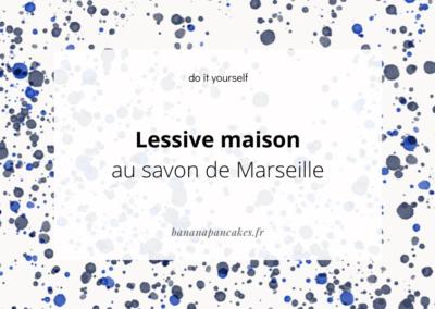 La recette de la lessive maison au savon de Marseille