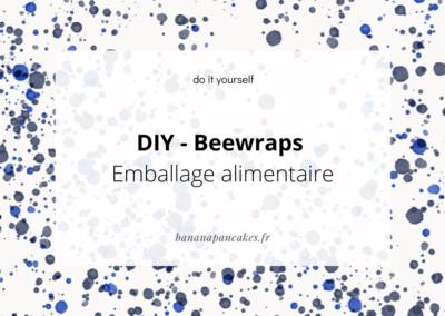 DIY : les bee wraps