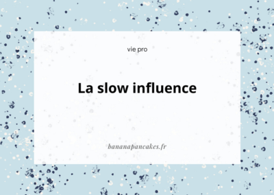 La slow influence