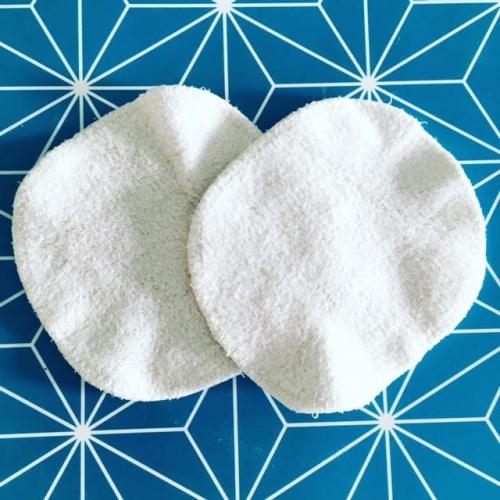 cotons lavables,démaquillage,entretien,percarbonate