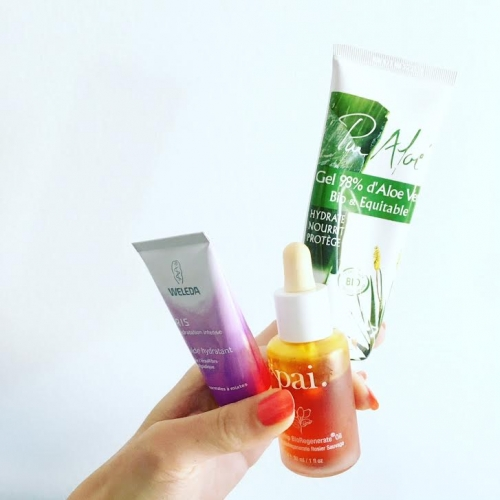 beauté,green,routine slow,peau déshydratée,huile végétale