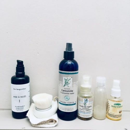 routine soins, minimalisme, bio, slow cosmétique,