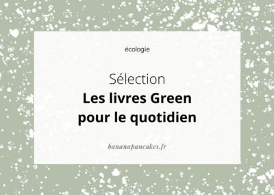 Les livres green du quotidien